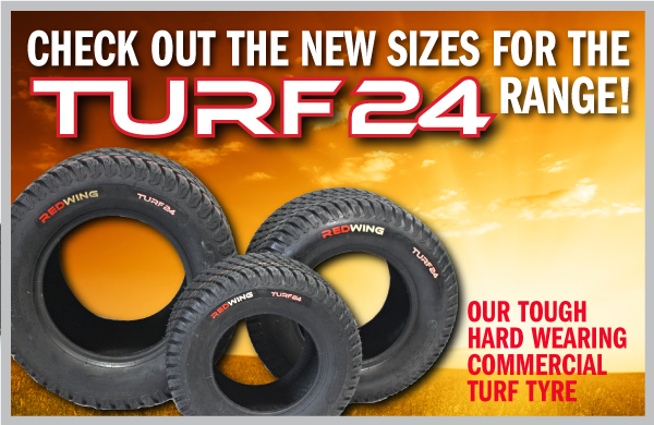 New sizes for the Turf24 range!