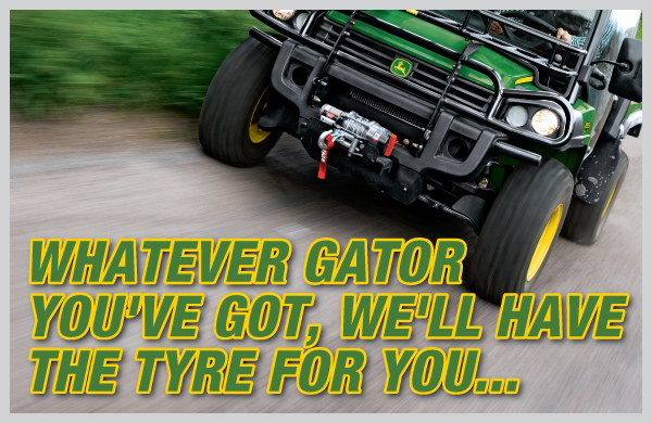 Got a Gator? We'll have the Tyre...