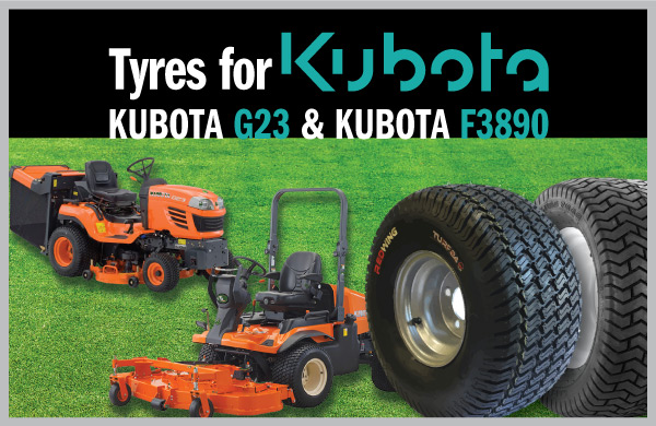 We have the tyres for your Kubota