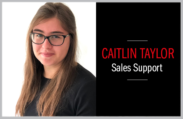 Meet Caitlin - part of our new team!