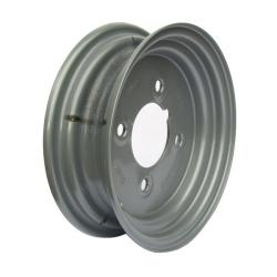 2.50-8 Wheel 4 Stud on 4 PCD (Silver)