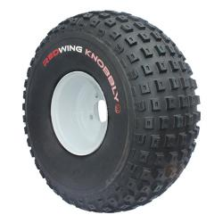 22x11.00-8 Redwing Knobbly RX Aramid 6PR on 7.00-8 4/100 PCD