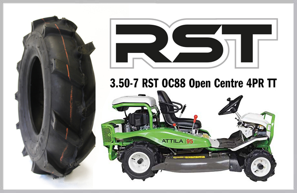 Featured Tyre: 3.50-7 RST OPEN CENTRE